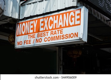 Money Exchange. Exchange Rate Finance Trade concept