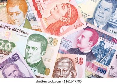 Money from Honduras, a business background