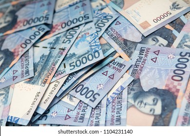 Money indonesian Rupiah Banknotes, One hundred thousand rupiahs and Fifty thousand rupiahs, Indonesian Currency
