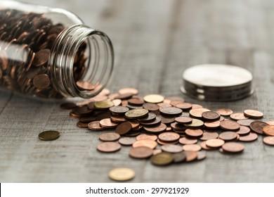 Money jar...