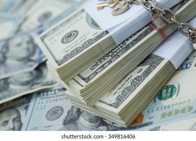 money - keys and locks