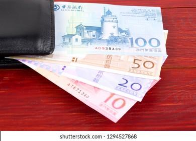 Money from Macau in the black wallet