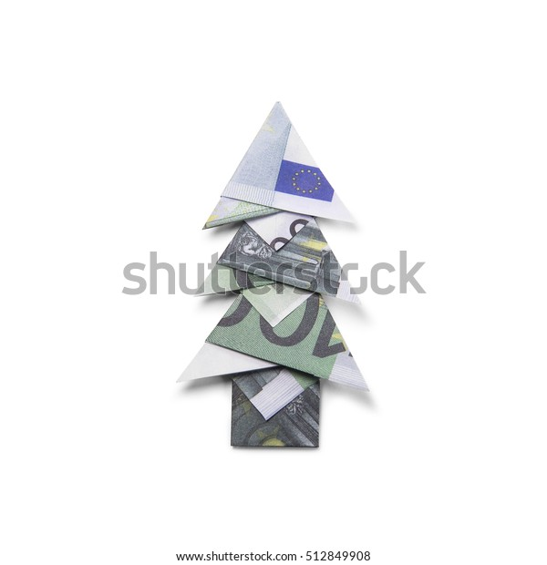 how to make an origami christmas tree with a dollar bill - Google ... | 620x600