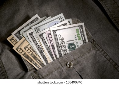 Money in the pocket