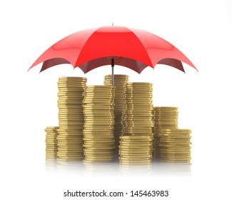 money saving, protection concept