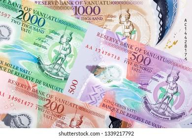Money from Vanuatu a business background