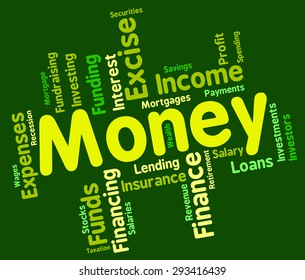 Money Word Meaning Revenue Cash And Currency