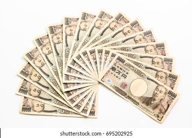 Money yen Japan