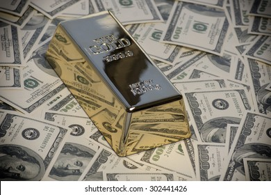 Money,cash,gold bullion