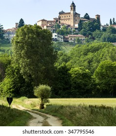 Monferrato near Alessandria (Piedmont, Italy): country landscape at spring