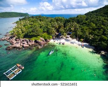 Mong Tay island in Phu Quoc island, Kien Giang, Vietnam
