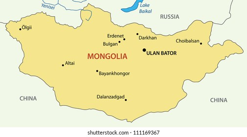 Map Of Mongolia Images Stock Photos Vectors Shutterstock