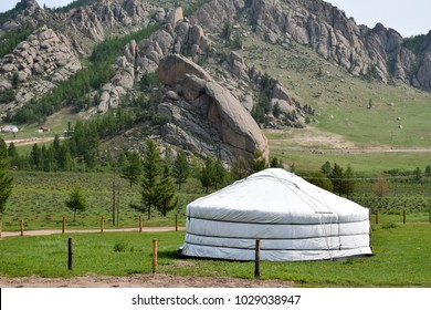 Mongolia tradition house