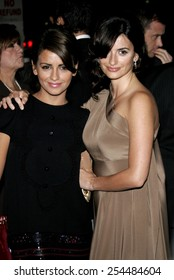 Monica and Penelope Cruz attend the Global Green USA Pre-Oscar Celebration to Benefit Global Warming held at the The Avalon in Hollywood, California on February 21, 2007.
