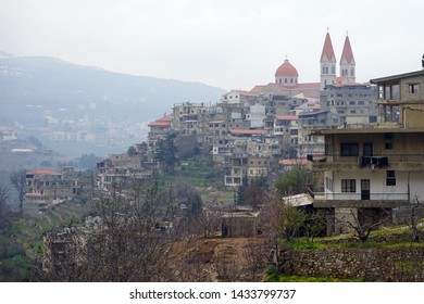 Moning in Bsharri in Lebanon