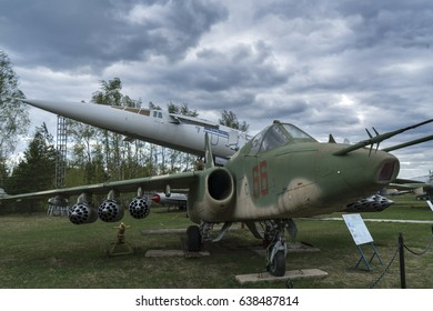 MONINO - MAY 6, 2017: the Central Museum of Military air forces of Russia in Monino, Moscow, Russia at may 6, 2017