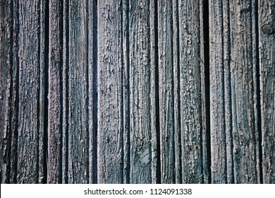 Monino/Russia - 06.12.2018: close view to plank wall background