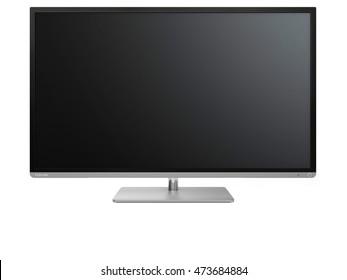 monitor, 3D illustration