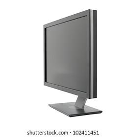 Monitor isolated on white background