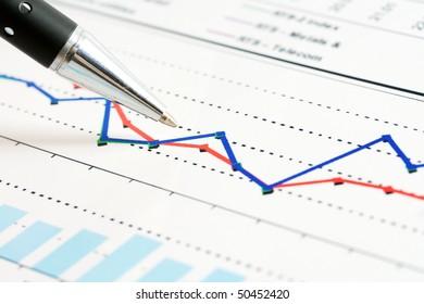Monitoring of stock index dynamics.