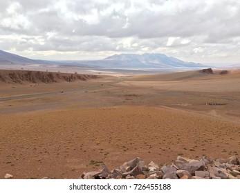 Monjes de la Pacana (Pacana Monks), San Pedro de Atacama, Antofagasta, Chile
