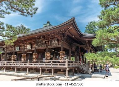 Monjudo hall of Chion-ji Temple in Miyazu city, Kyoto, Japan