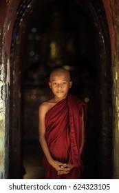 Monk Myanmar monk tPortrait Myanmar his life of Myanmar religion Buddhist monk in bagan Myanmar