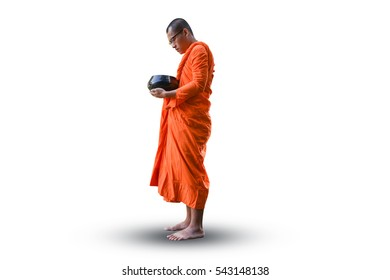 monk White background