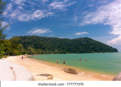 Monkey Beach in the National Park of  Penang, Malaysia