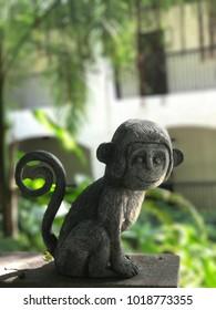 Monkey sculpture Thailand
