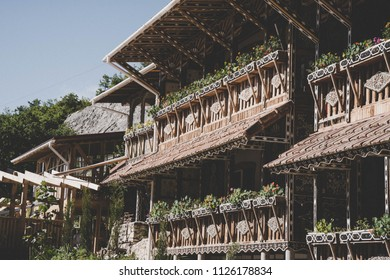 Monks house in the mountains
