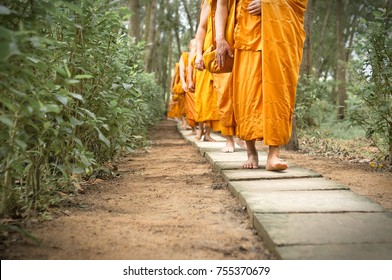 Monks of Theravada Buddhism