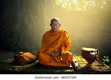 Monks were the mental capacity to live in peace.