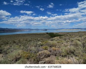 Mono lake view, California