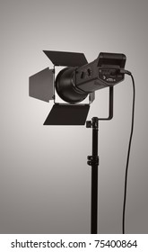 Monoblock of professional studio lighting
