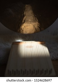 Monochord and Gong sound healing instruments