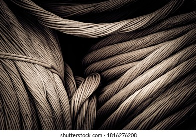 monochromatic gordian knot in a port of scotland