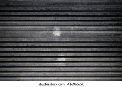 monochrome door roll up texture background