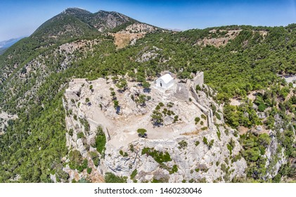 Monolithos castle - The most beautiful view on Rhodes