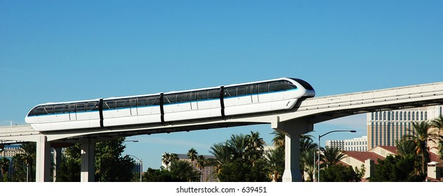 Monorail at the Las Vegas Convention Center