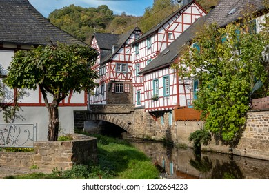 Monreal, Eifel Mountains, Germany. Monreal is one of the most charming villages in the Eifel Mountains in Rhineland-Palatinate