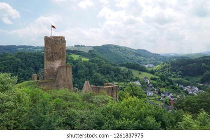 Löwenburg in Monreal Germany