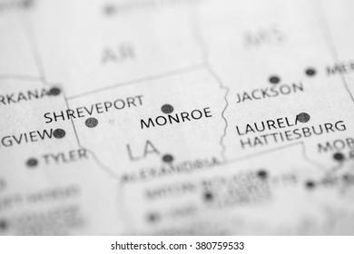 Monroe. Louisiana. USA