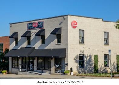 Monroe NC / USA - 08/24/2019 - Monroe NC Coke Bottling company