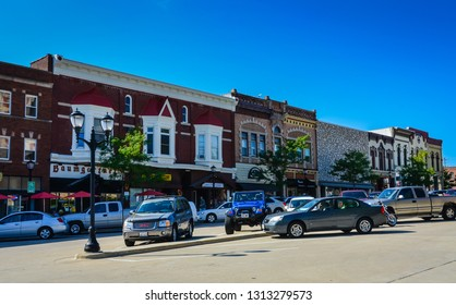 "Monroe, WI / USA - 08-30-2014: Monroe, known as ""the Swiss Cheese Capital of the USA"", is a city in and the county seat of Green County, Wisconsin, United States."