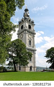 Mons, Belgium. The Belfry of Mons, the only baroque bell tower in Belgium and a World Heritage Site since 1999