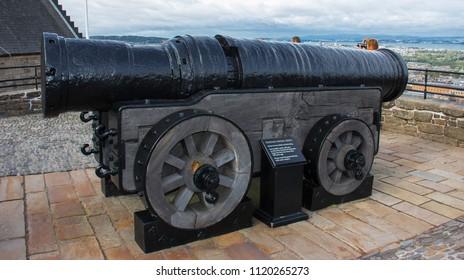 Mons Meg Siege Gun Scotland