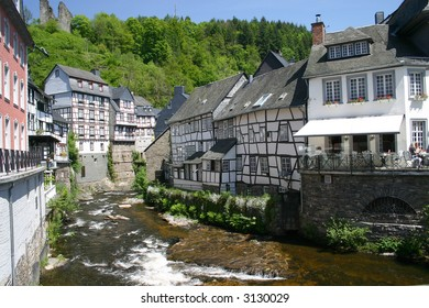 Monschau - small town in Germany