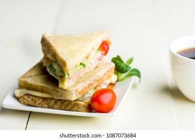 Monsieur croque the best sandwich of the world