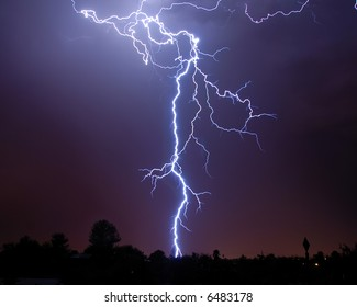 Monsoon Lightning, Tucson AZ